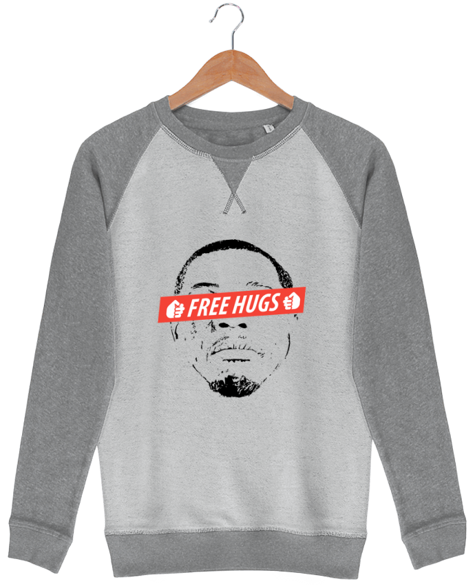 Sweat-shirt Strolls Inside Out Free Hugs par tunetoo