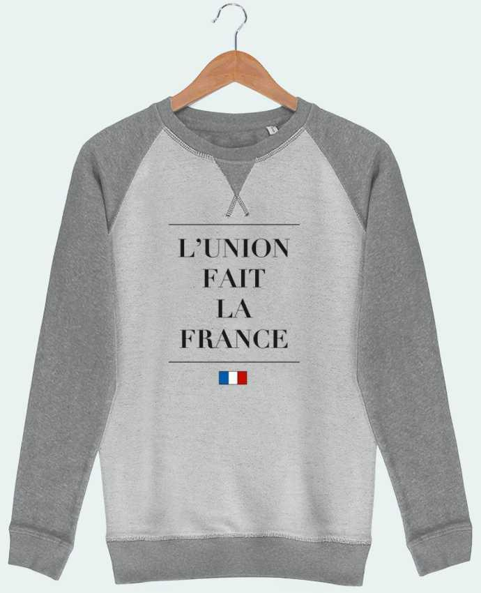 Sweat French Terry L'union fait la france par Ruuud