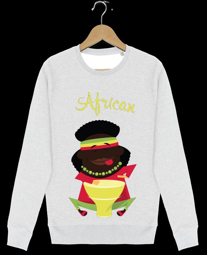 Sweat-shirt Stanley stella modèle seeks African par MasterMassi