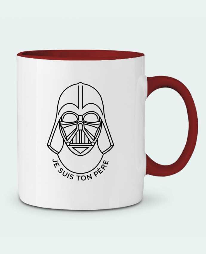 Mug en Céramique Bicolore Je suis ton père tunetoo