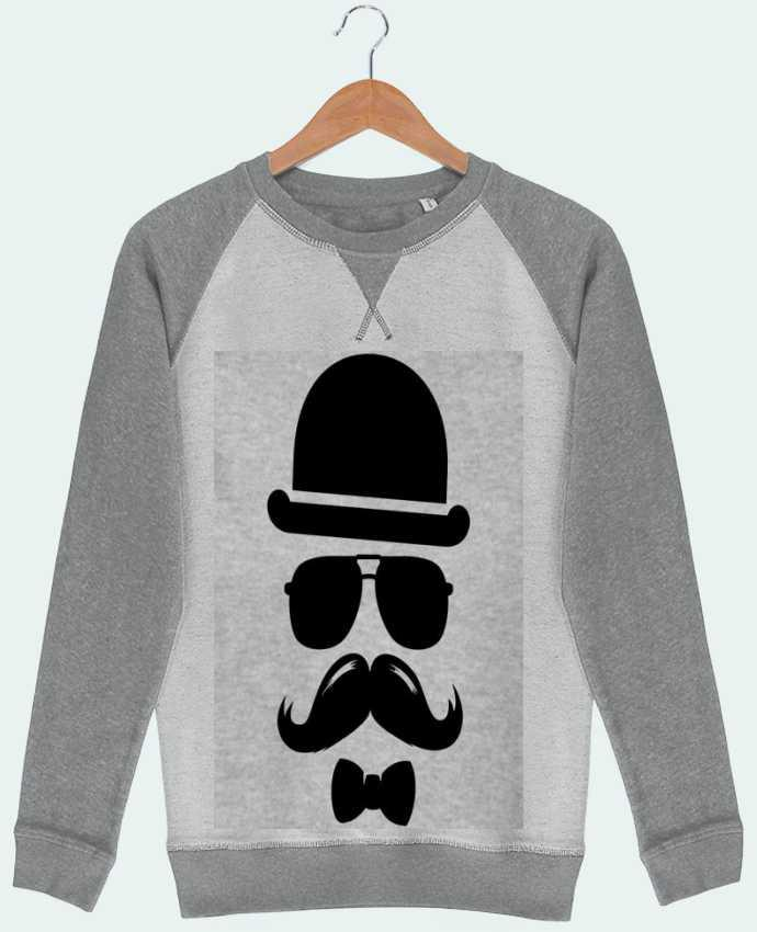 Sweat French Terry Vetement moustache swag par mateo