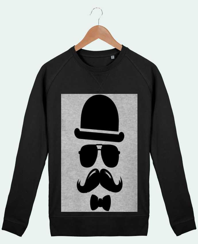 Sweat Col Rond Homme Stanley Strolls Vetement moustache swag par mateo