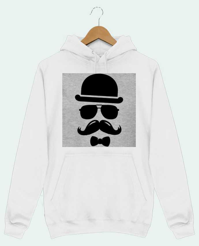 Sweat Shirt à Capuche Homme Vetement moustache swag par mateo