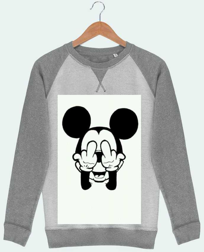 Sweat French Terry Vetement mickey doigt d'honneur par mateo