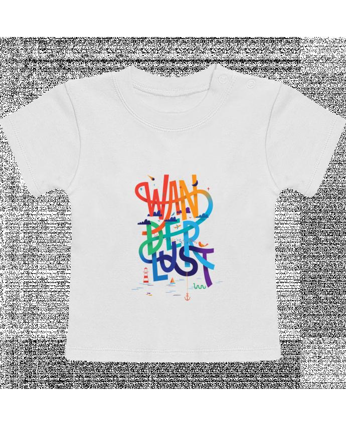 T-Shirt Bébé Manches Courtes WanderLust manches courtes du designer chriswharton