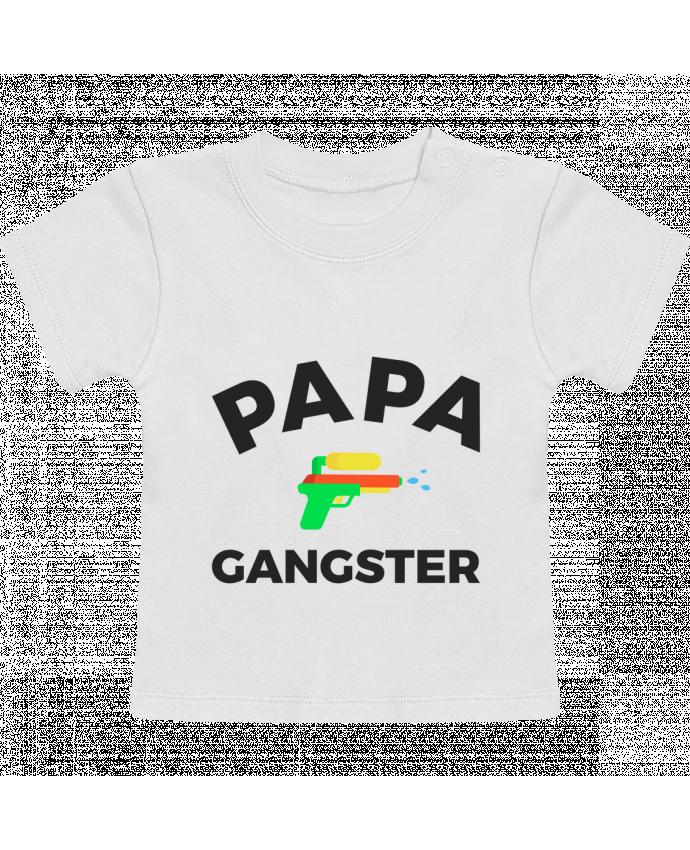 T-Shirt Bébé Manches Courtes Papa Ganster manches courtes du designer Ruuud