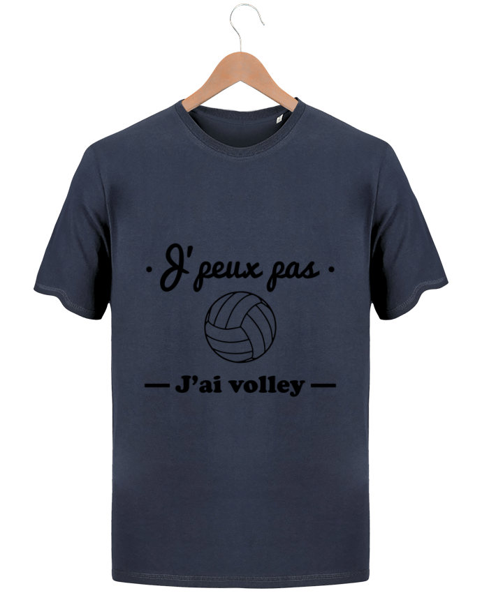 T-Shirt Homme Stanley Hips J'peux pas j'ai volley , volleyball, volley-ball par Benichan