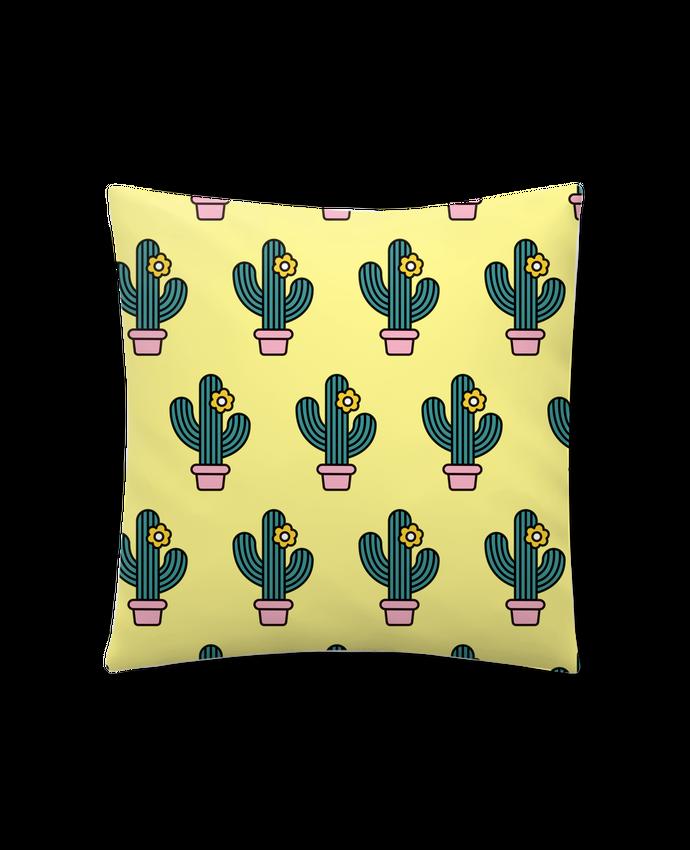 Coussin Synthétique Doux 45 x 45 cm Cactus par tunetoo