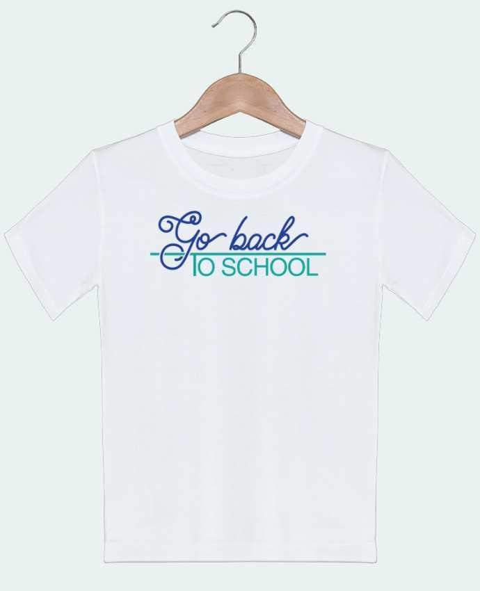T-shirt Enfant Go back to school tunetoo