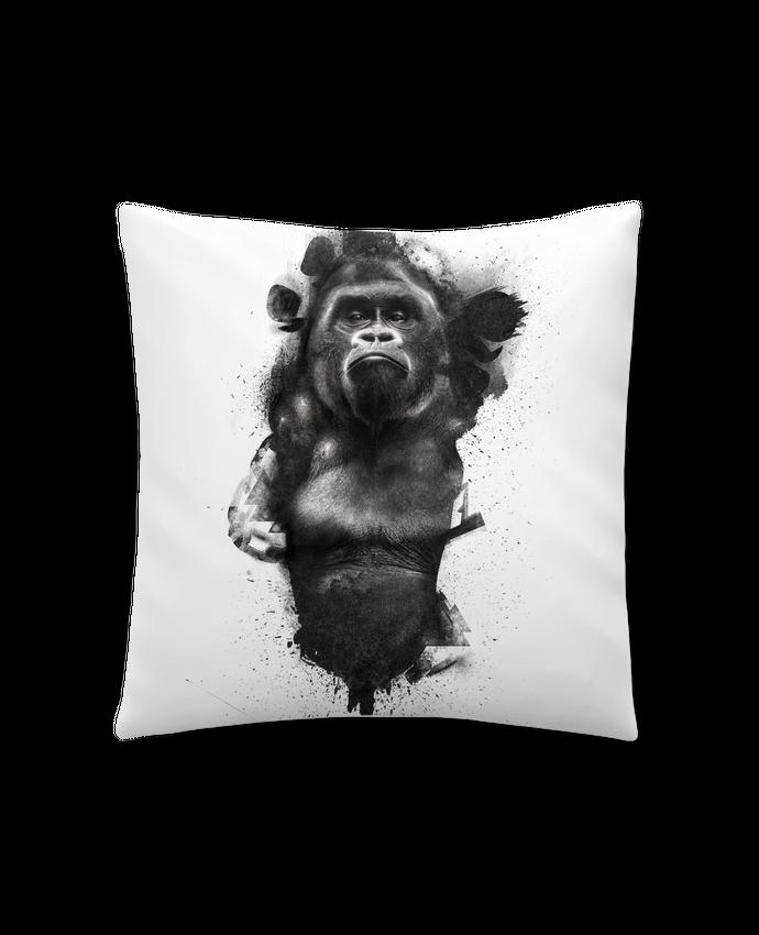 Coussin Synthétique Doux 45 x 45 cm Gorille par WZKdesign