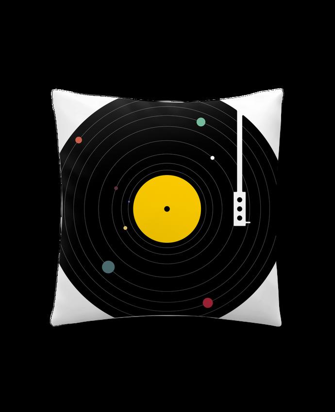 Coussin Synthétique Doux 45 x 45 cm Music Everywhere par Florent Bodart