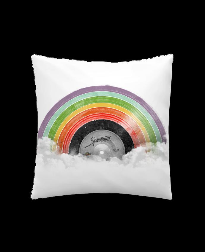 Coussin Synthétique Doux 45 x 45 cm Rainbow Classics par Florent Bodart