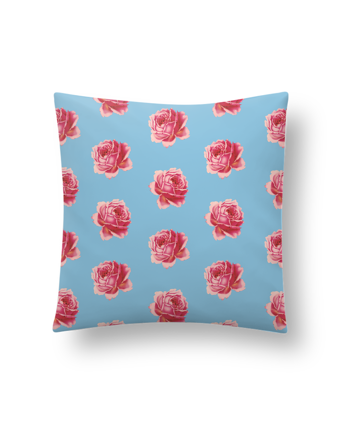 Coussin Pattern rose par tunetoo