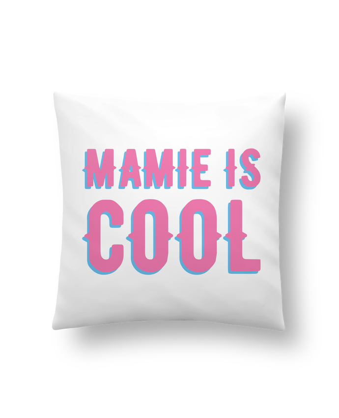 Coussin Mamie is cool par tunetoo