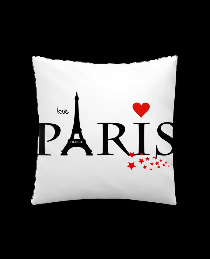Coussin Synthétique Doux 45 x 45 cm Paris love par Dream Design