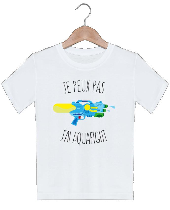T-shirt Enfant Je peux pas j'ai aquafight tunetoo