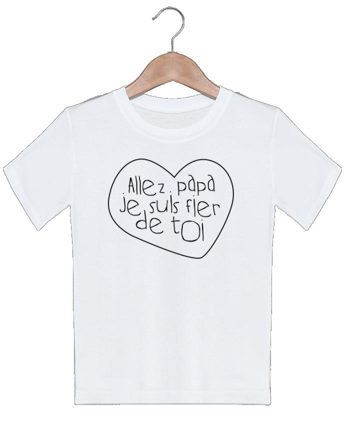 T-shirt Enfant Allez papa je suis fier de toi tunetoo