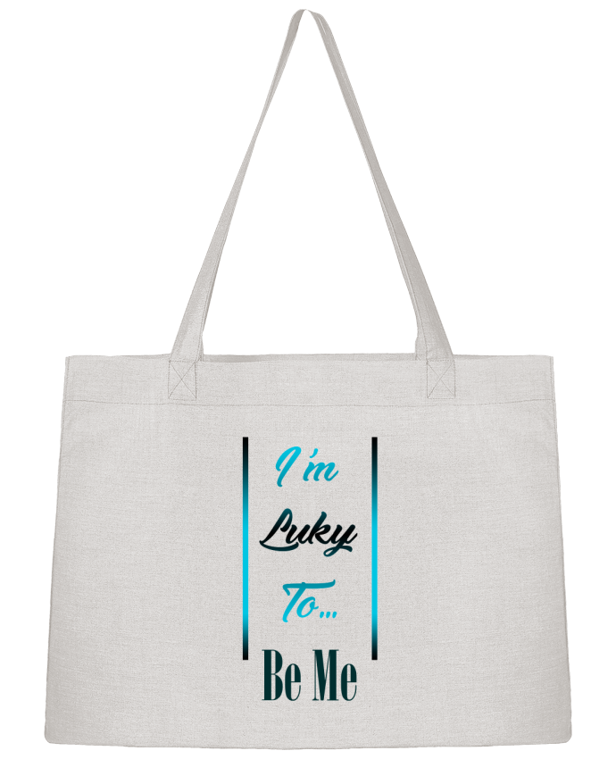 Sac Cabas Shopping Stanley Stella I'm lucky to be me par MotorWave's