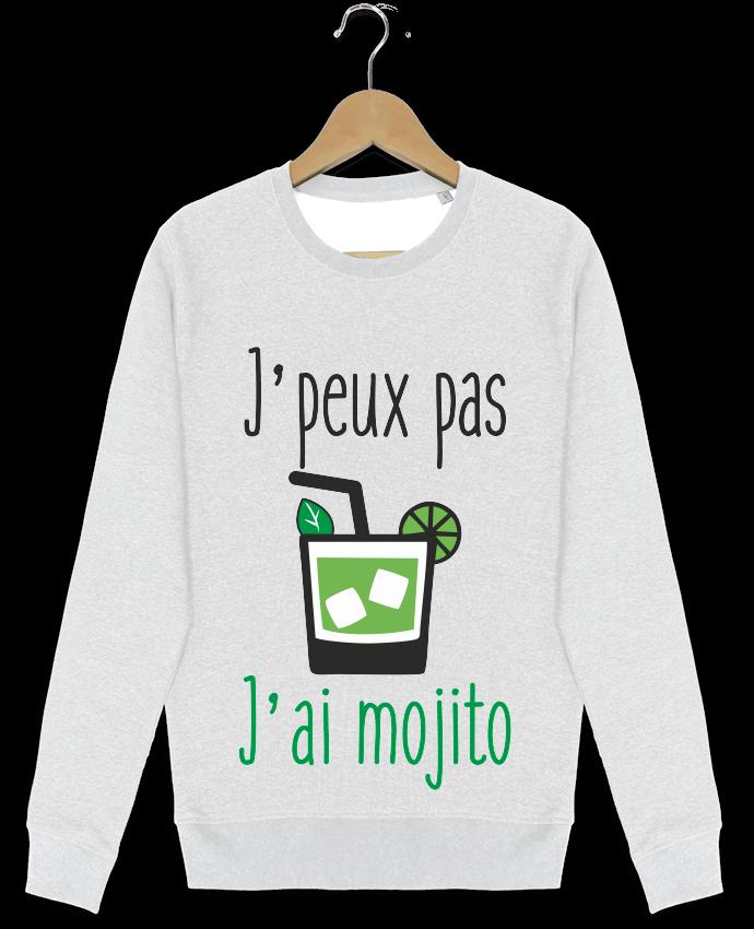 Sweat-shirt Stanley stella modèle seeks J'peux pas j'ai mojito par Benichan