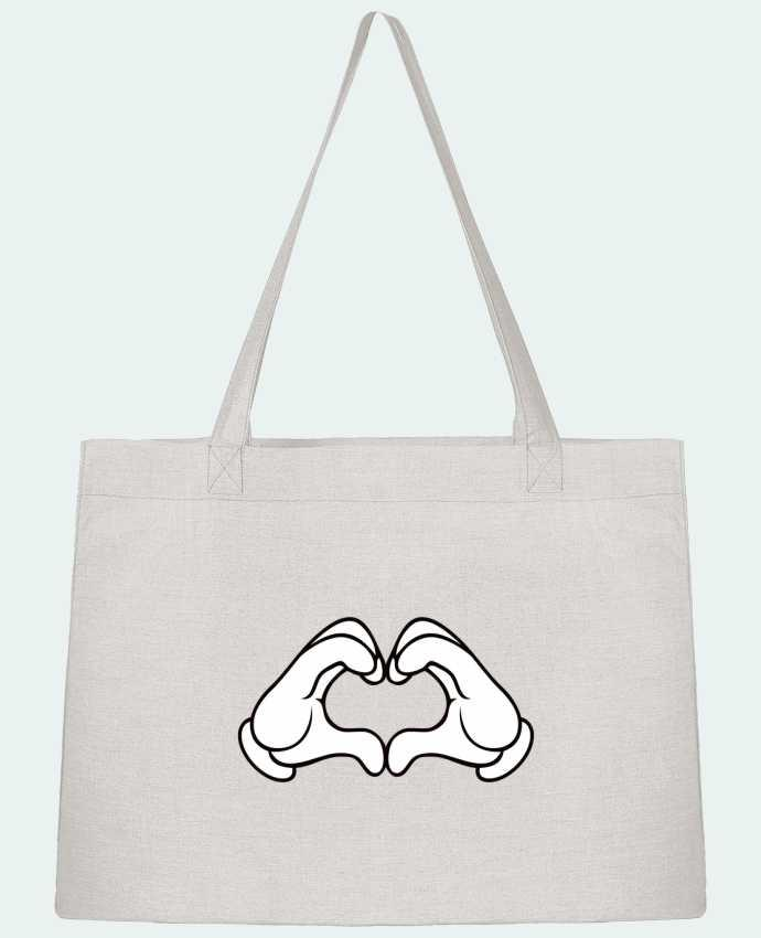 Sac Shopping LOVE Signe par Freeyourshirt.com