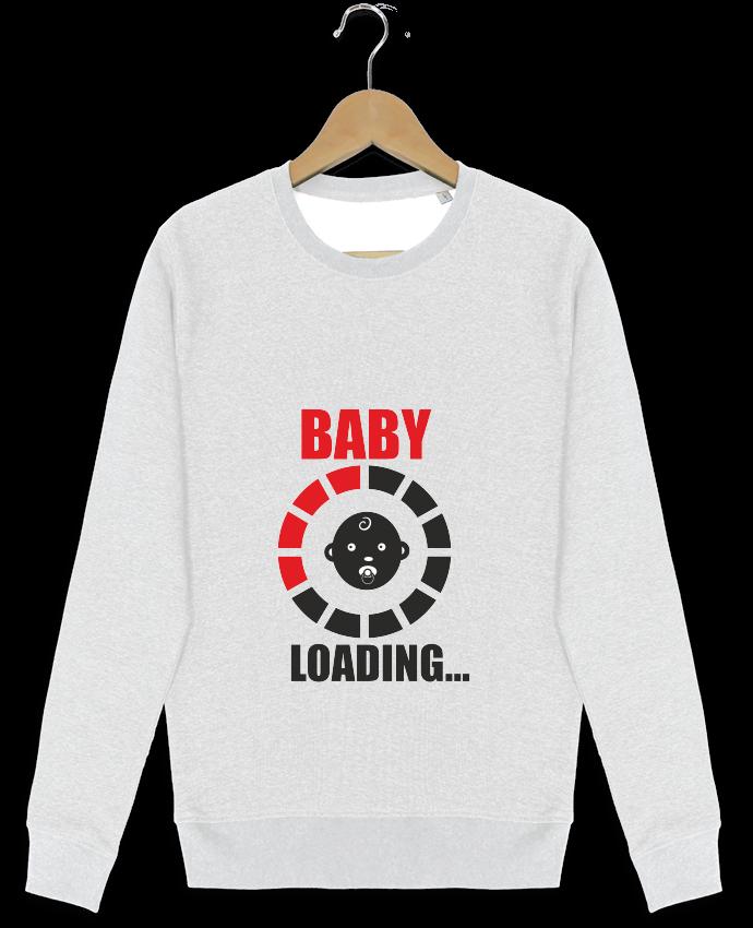 Sweat-shirt Stanley stella modèle seeks Bébé en cours par Benichan
