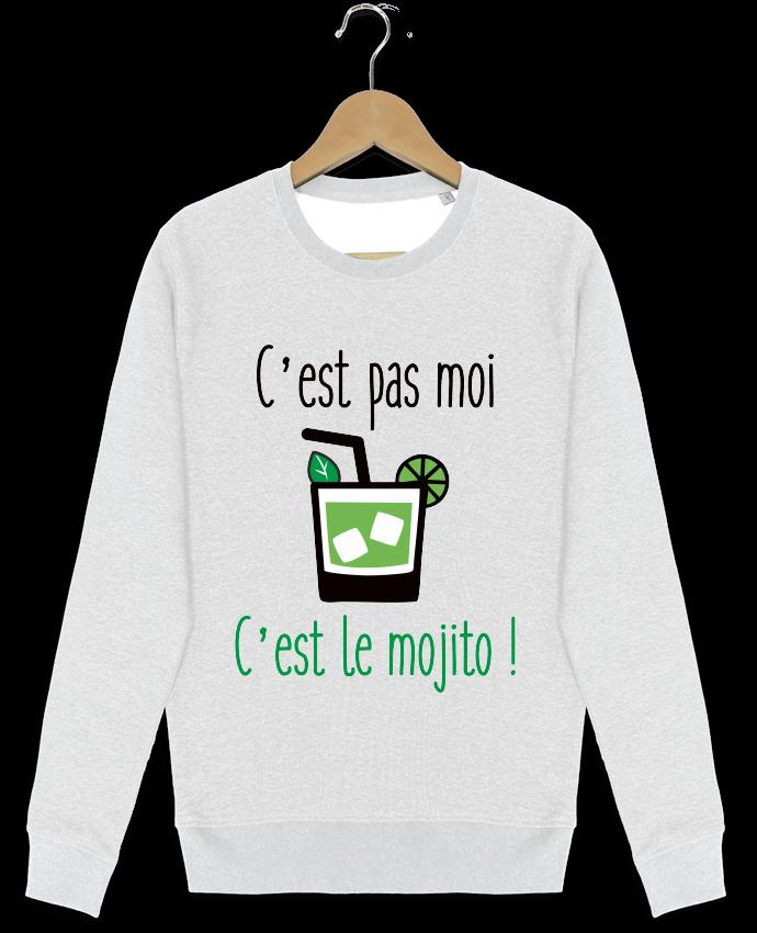 Sweat-shirt Stanley stella modèle seeks C'est pas moi c'est le mojito par Benichan