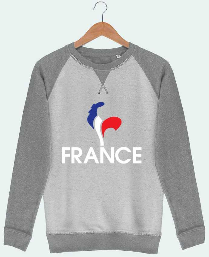 Sweat French Terry France et Coq par Freeyourshirt.com
