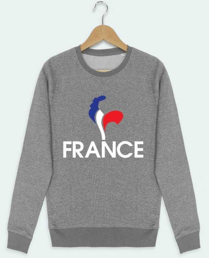 Sweat Col Rond Stella Seeks France et Coq par Freeyourshirt.com