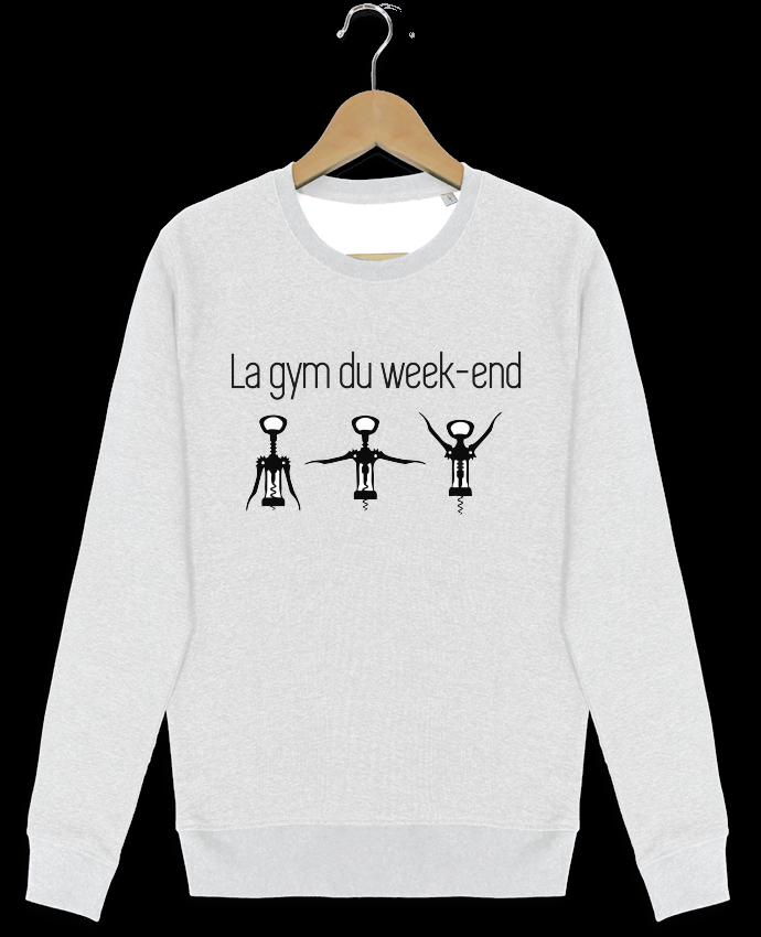 Sweat-shirt Stanley stella modèle seeks La gym du week-end par Benichan