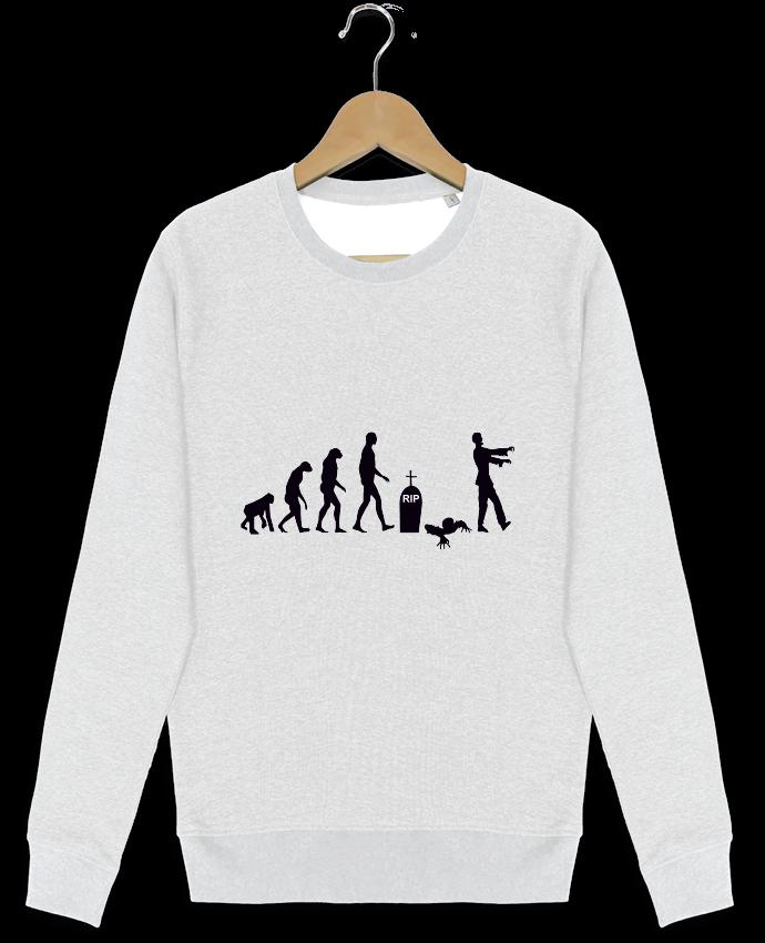 Sweat-shirt Stanley stella modèle seeks Zombie évolution par Benichan