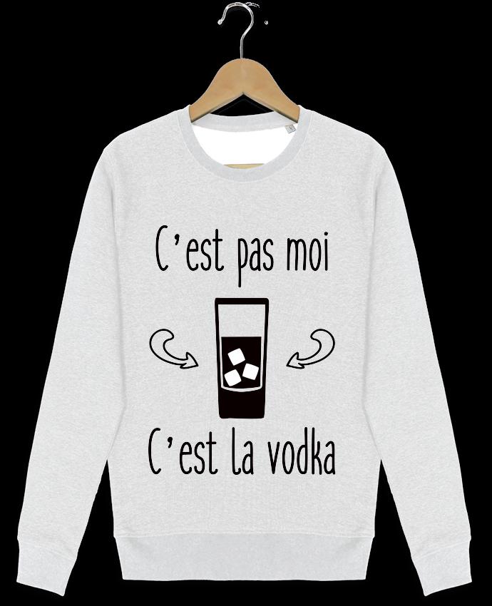 Sweat-shirt Stanley stella modèle seeks C'est pas moi c'est la vodka par Benichan