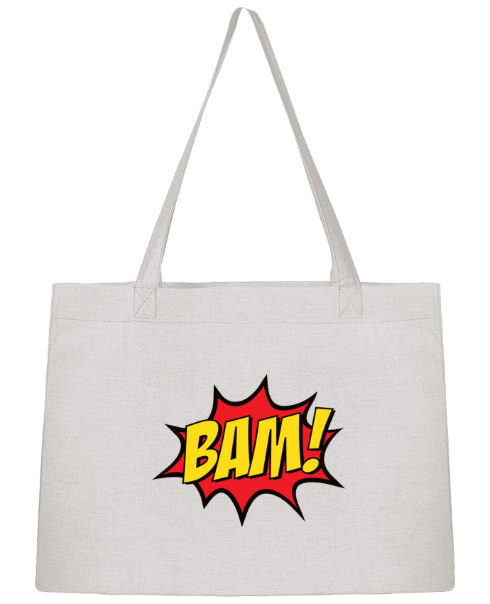 Sac Shopping BAM ! par Freeyourshirt.com