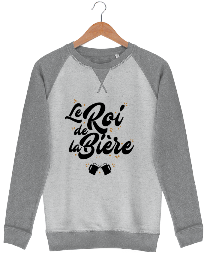 Sweat French Terry Le roi de la bière par LPMDL
