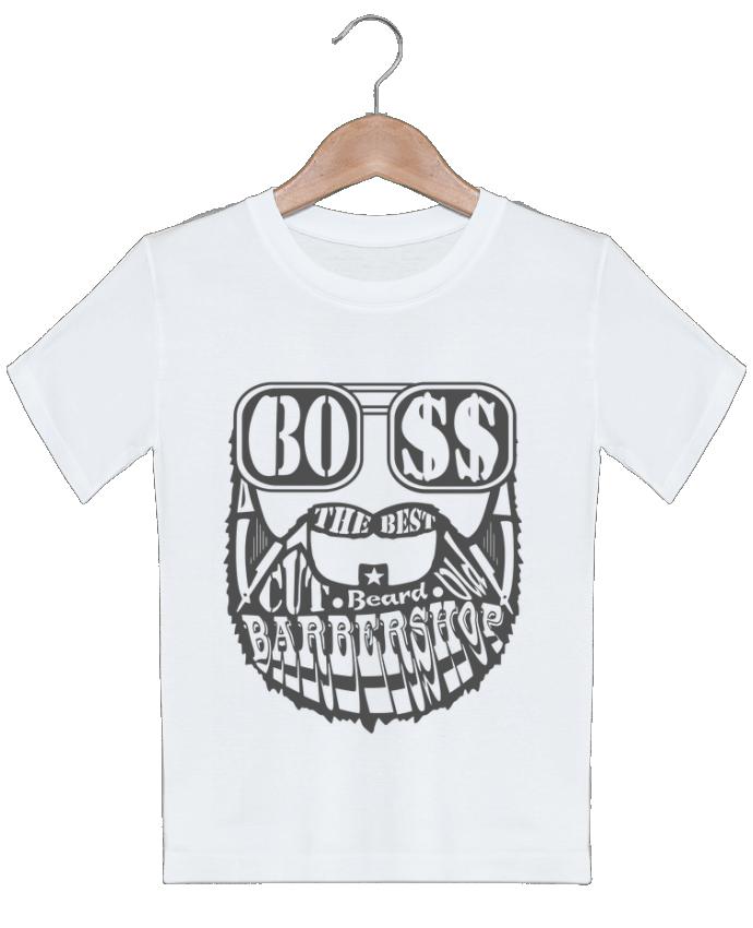 T-shirt Enfant Barbershop markageurbain