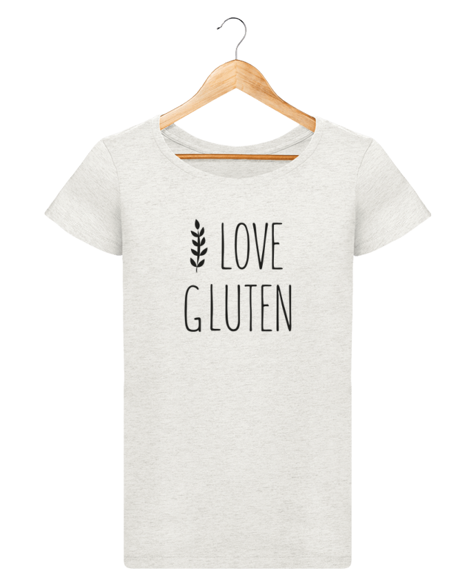 T-shirt Femme Stella Loves I love gluten by Ruuud par Ruuud