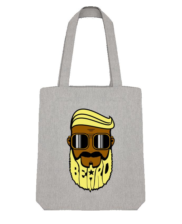 Tote Bag Stanley Stella Beard Barber jaune par BOUTIQUE DU BARBU