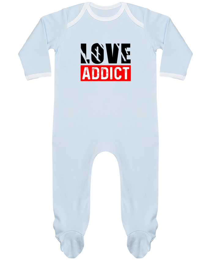 Body Pyjama Bébé Love Addict par sole-tshirt