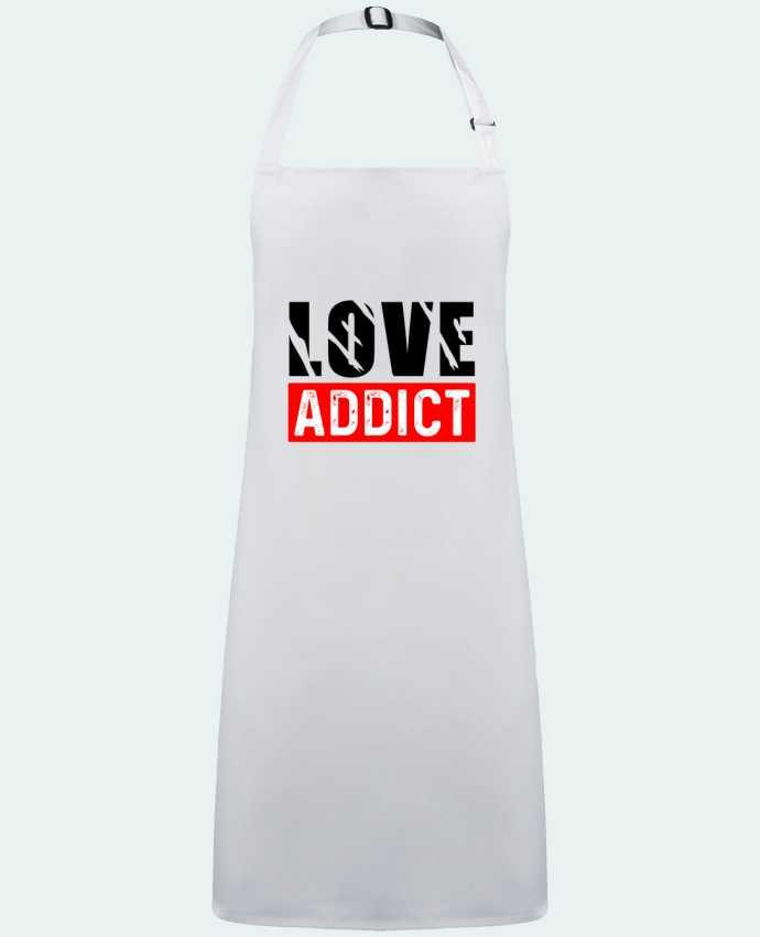 Tablier Love Addict par  sole-tshirt