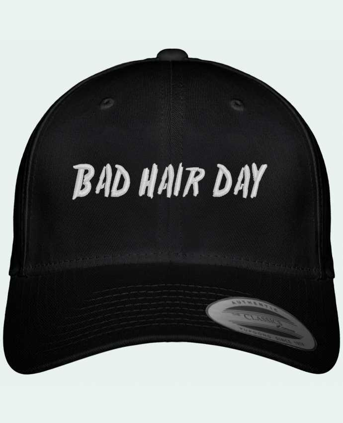 Casquette Flexfit 6 panneau Bad hair day par tunetoo