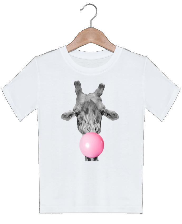 T-shirt Enfant Girafe bulle justsayin
