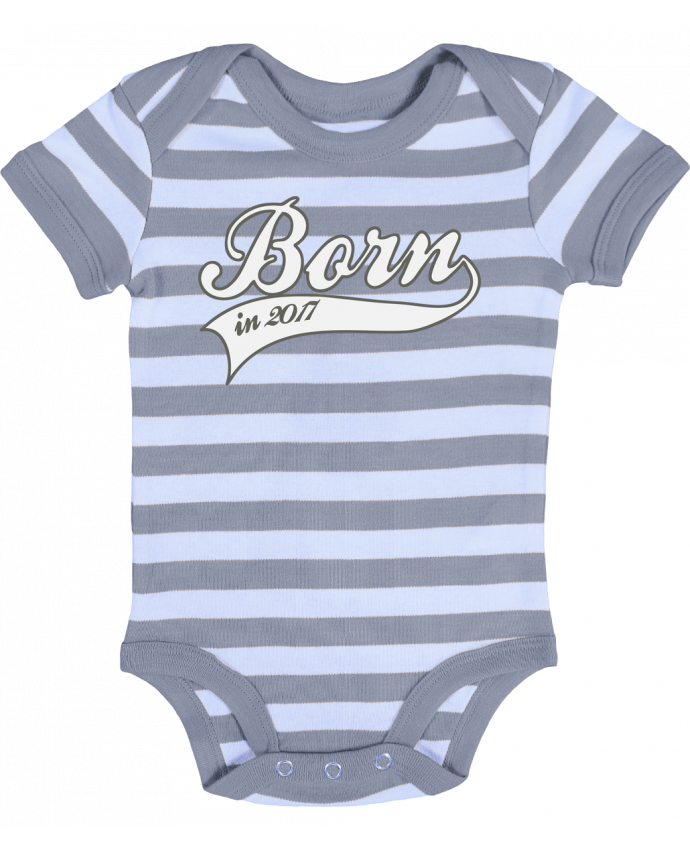 Body Bébé Rayé Born in 2017 - justsayin