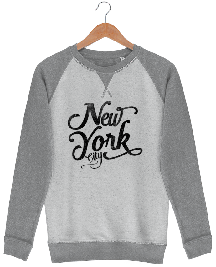 Sweat French Terry New York City typographie par justsayin
