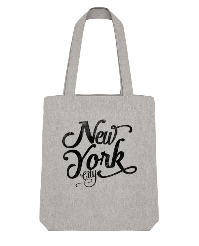 Tote Bag Stanley Stella New York City typographie par justsayin