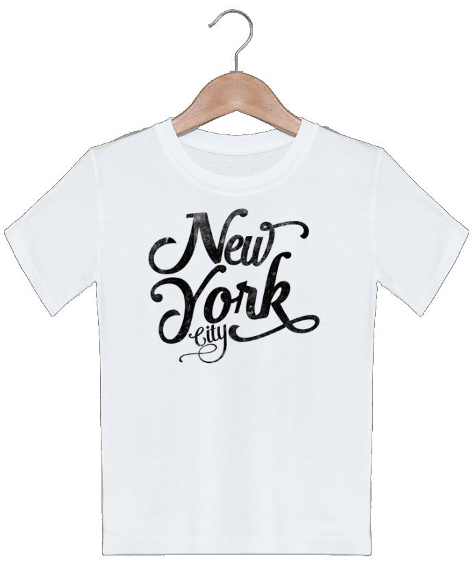 T-shirt Enfant New York City typographie justsayin