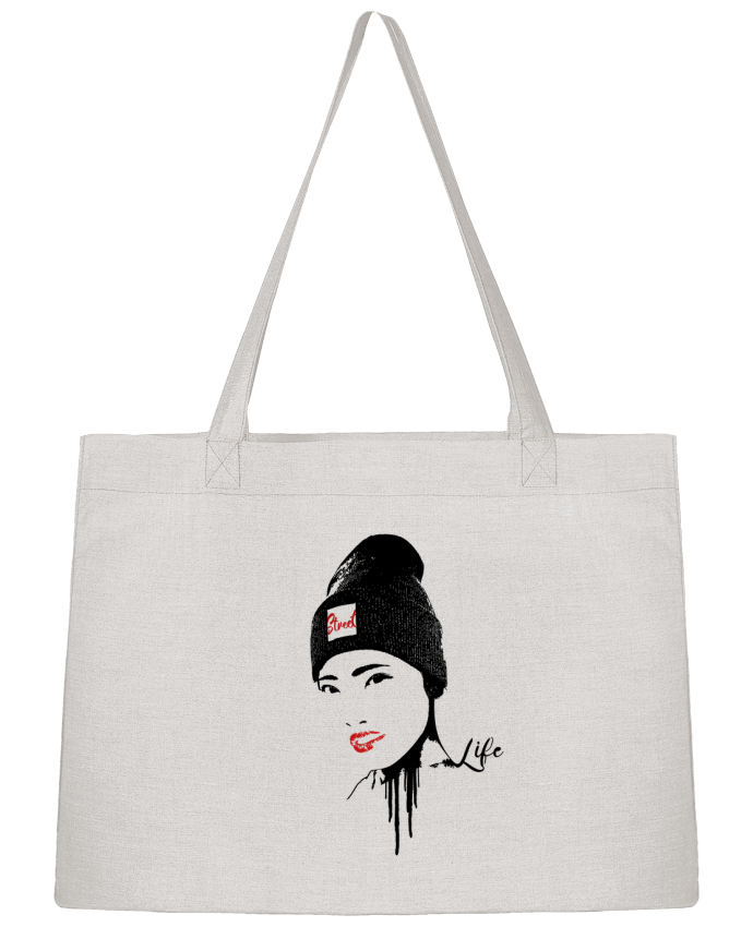 Sac Shopping Geisha par Graff4Art