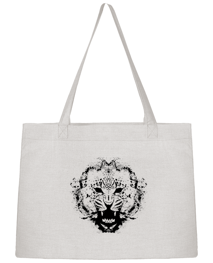 Sac Shopping leopard par Graff4Art