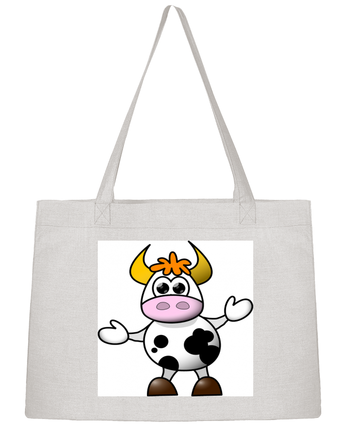 Sac Shopping Happy Cow par Sandyf