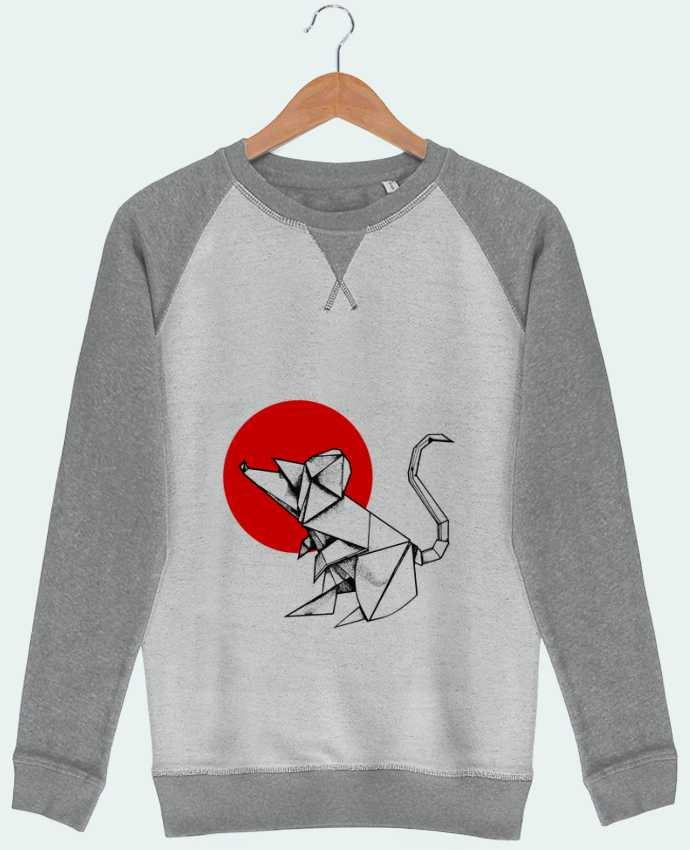 Sweat French Terry ORIGAMI RAT par Fets