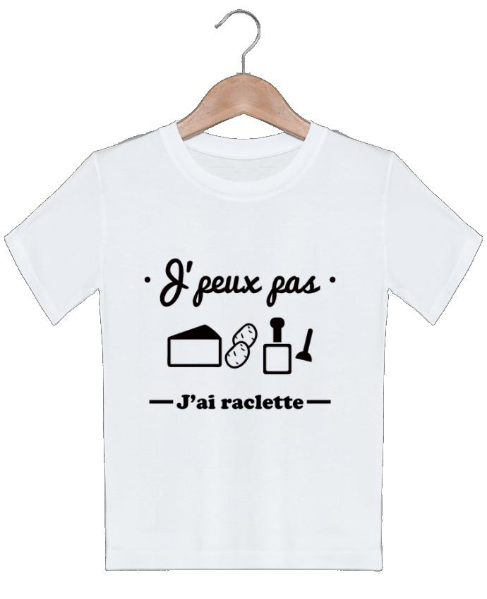 T-shirt Enfant J'peux pas j'ai raclette Benichan