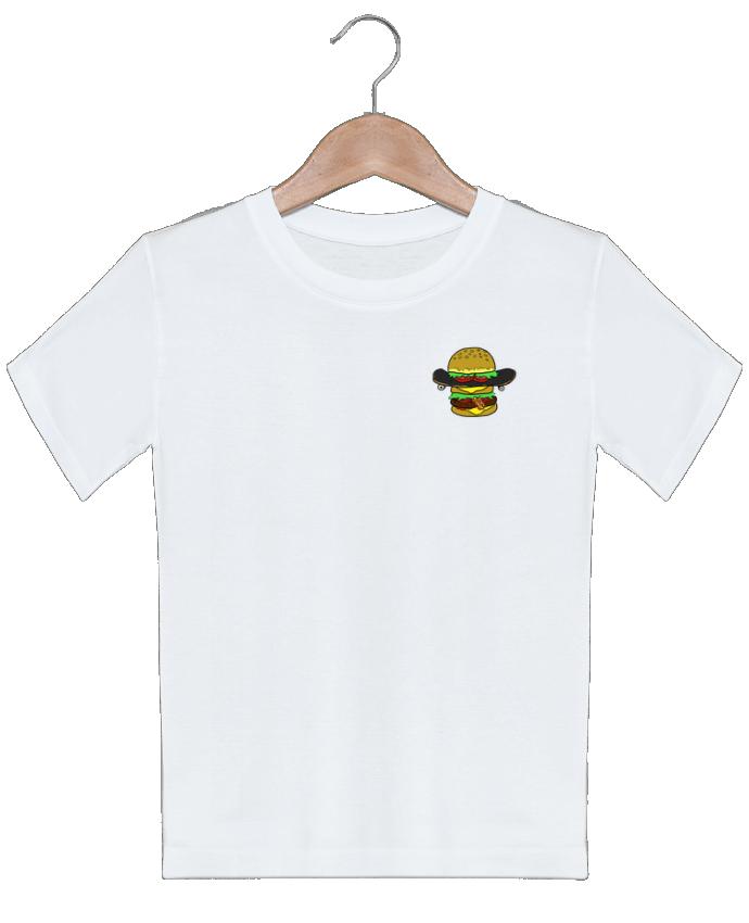 T-shirt Enfant Skateburger Salade